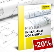 20% rabatu na projekt instalacji solarnej