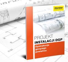 Projekt instalacji dystrybucji gorącego powietrza (DGP)