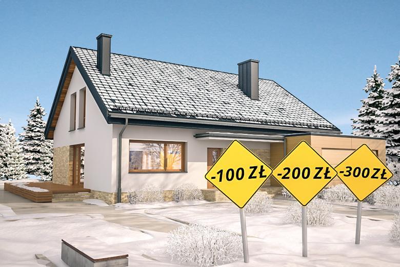 Sezonowa promocja na projekty domów
