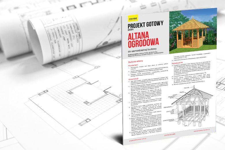 Promocja Projekt Altany Ogrodowej Murator Projekty