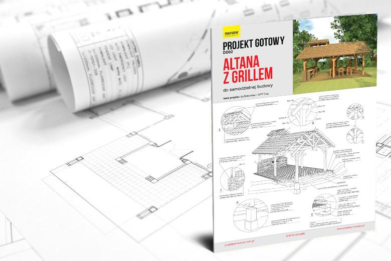 Promocja Projekt Altany Z Grillem Murator Projekty