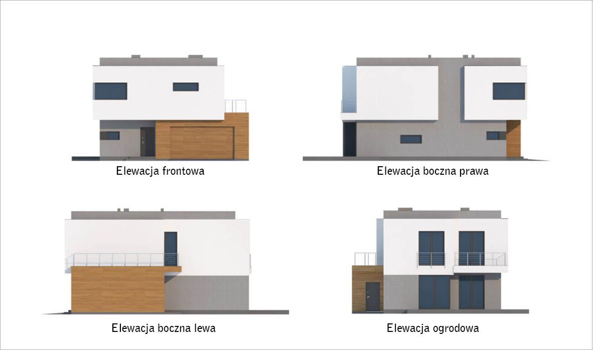 Projekt Domu C351 Attykowy Murator Projekty