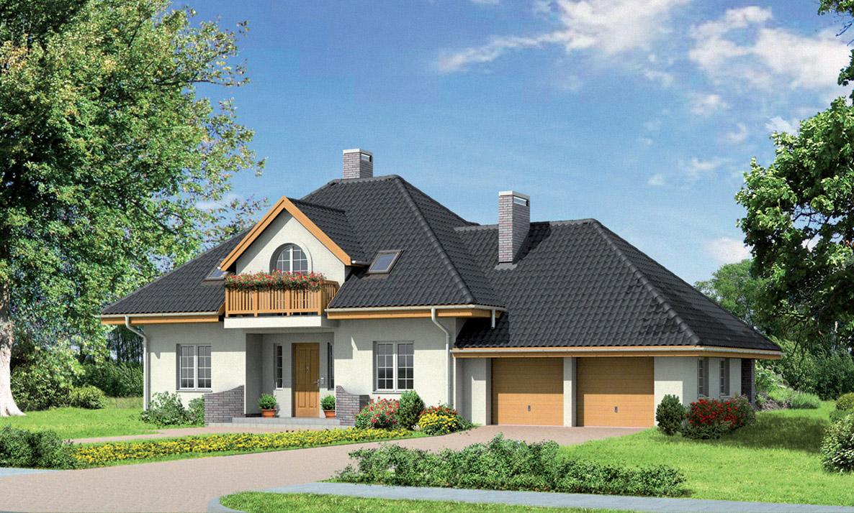 """Проекты домов с мансардой белгород """" современный дизайн."""