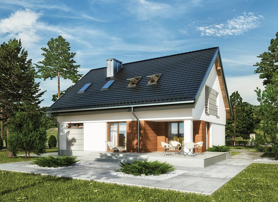 Projekt Domu M188 Pastelowa Tecza Murator Projekty