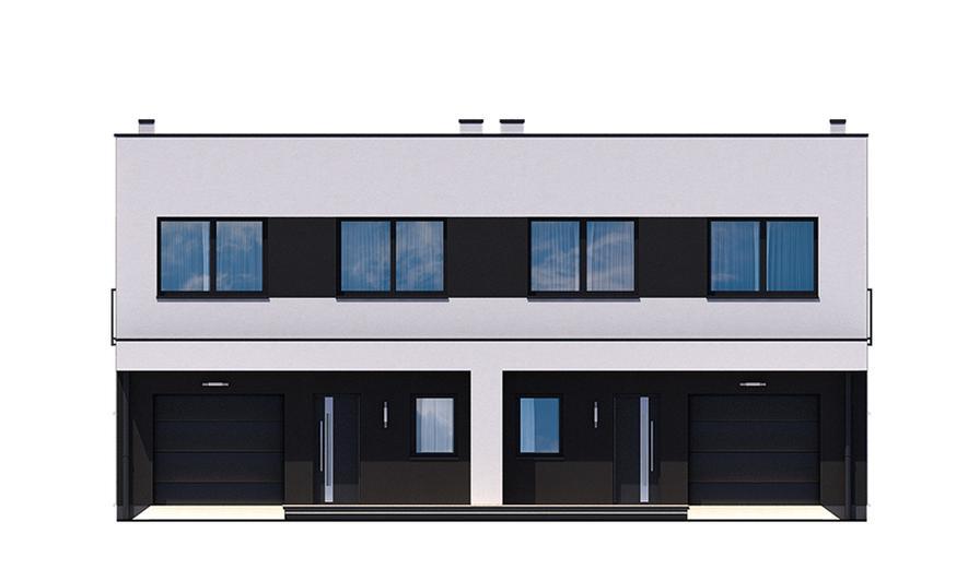 Ka12 S Projekt domu Ka12 S (segment)