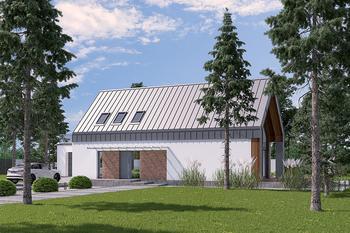 Dom z klimatem - wariant III (z wentylacją mechaniczną i rekuperacją)