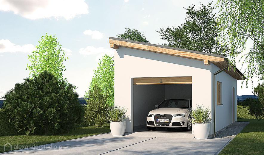 ASG01A Garaż / Budynek gospodarczy