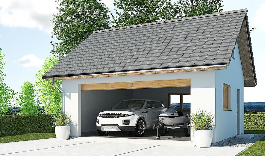 APG5B Garaż / Budynek gospodarczy