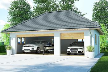 Garaż / Budynek gospodarczy APG7B