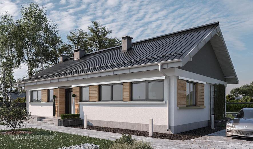 AN976 Mela (murowana - beton komórkowy)