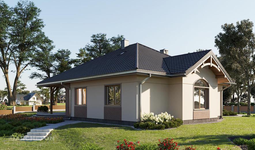 AN1018 Sonatina (murowana - beton komórkowy)