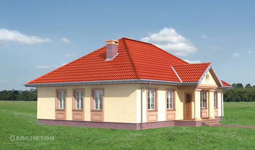 AN1064 Aleksandria Hera (murowana - beton komórkowy)