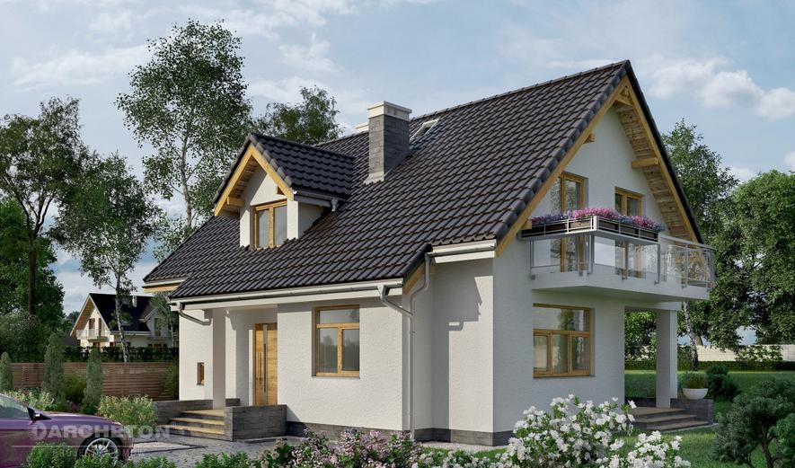 AN1194 Prymulka (murowana - beton komórkowy)