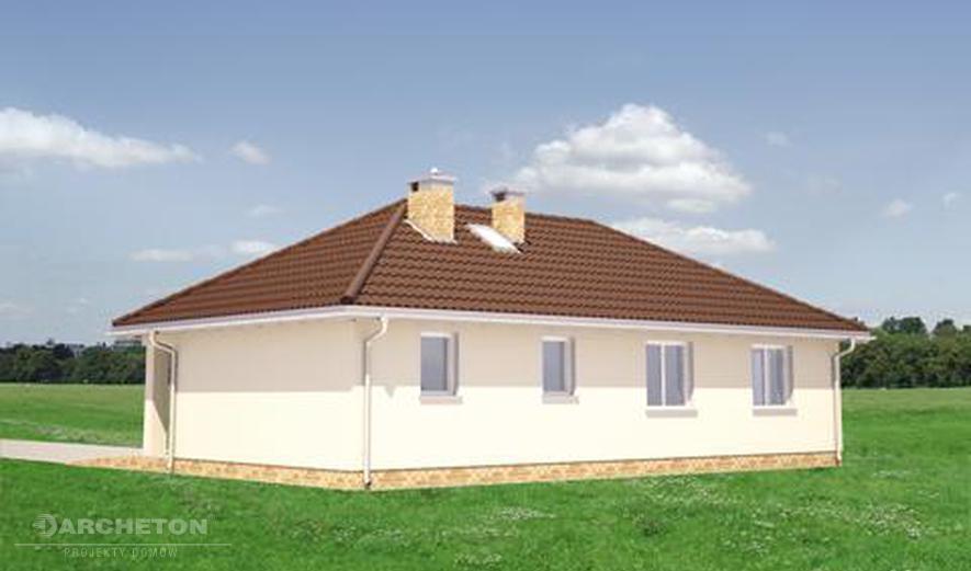 AN1203 Cetyniec (murowana - beton komórkowy)