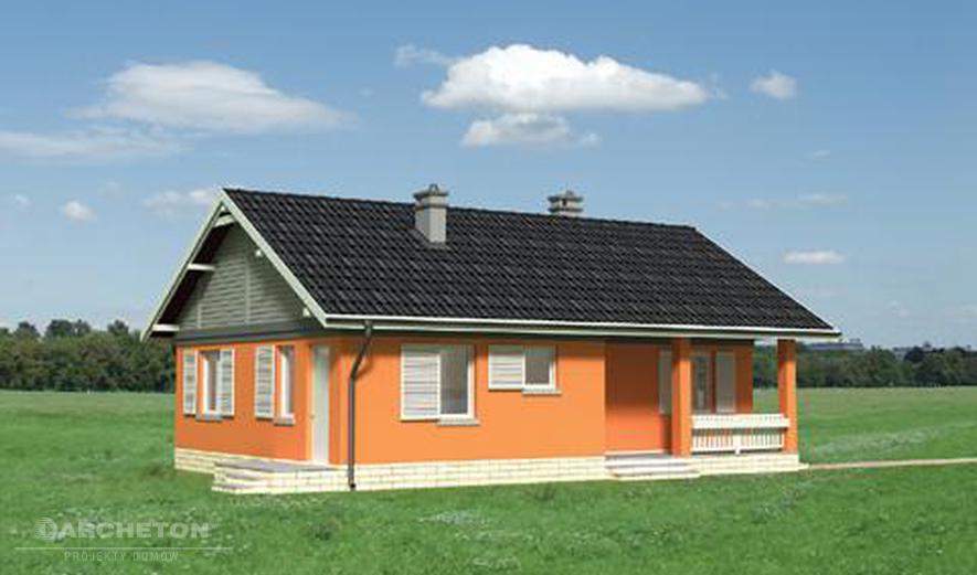 AN1317 Modrzyk (murowana - beton komórkowy)