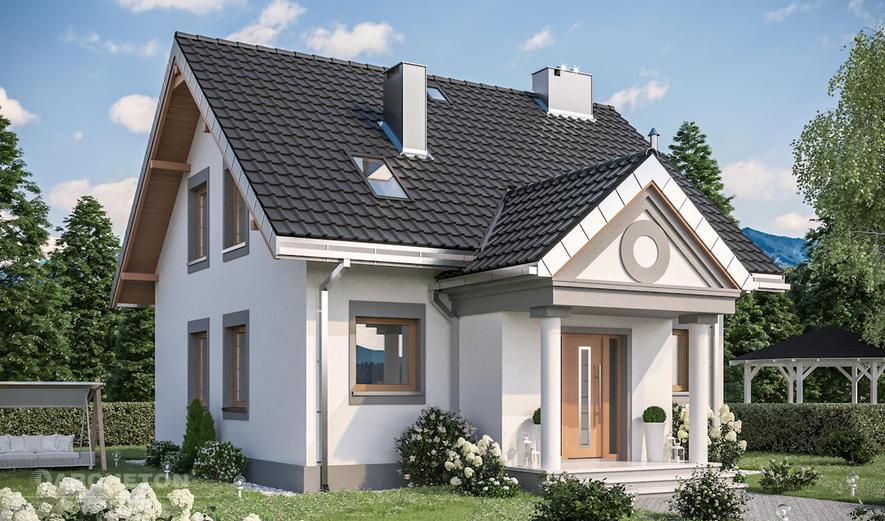 AN1487 Staś (murowana - beton komórkowy)
