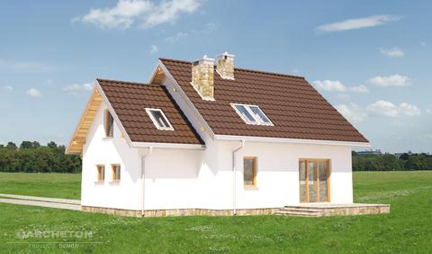 AN1537 Czaruś (murowana - beton komórkowy)