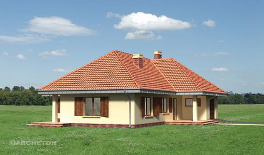 AN1538 Tymoteusz (murowana - beton komórkowy)