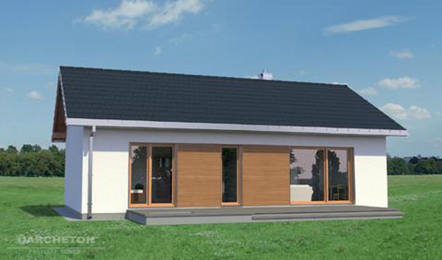 AN1540 Maluch Bis (murowana - beton komórkowy)