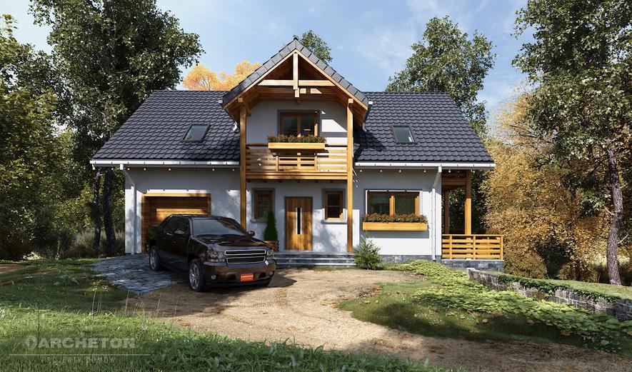 AN1548 Tekla (murowana - beton komórkowy)