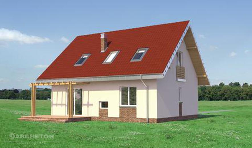 AN557 Pączek (murowana - beton komórkowy)