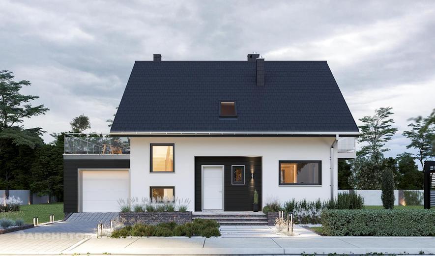 AN1713 Celesta (murowana - beton komórkowy)