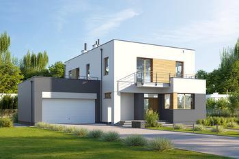 Projekt domu E-206