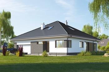 Projekt domu E-235