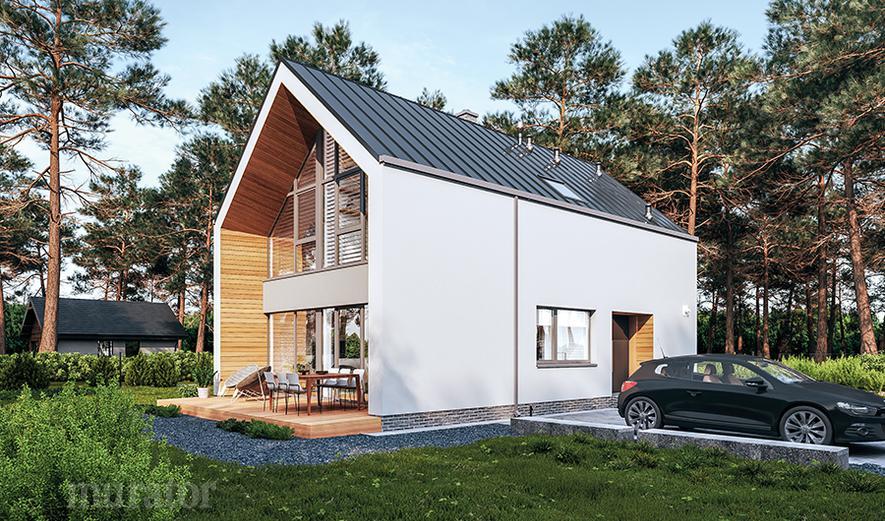 EC402 Dom perfekcyjny (z wentylacją mechaniczną i rekuperacją)