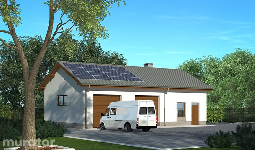 GM13 Budynek garażowo-magazynowy