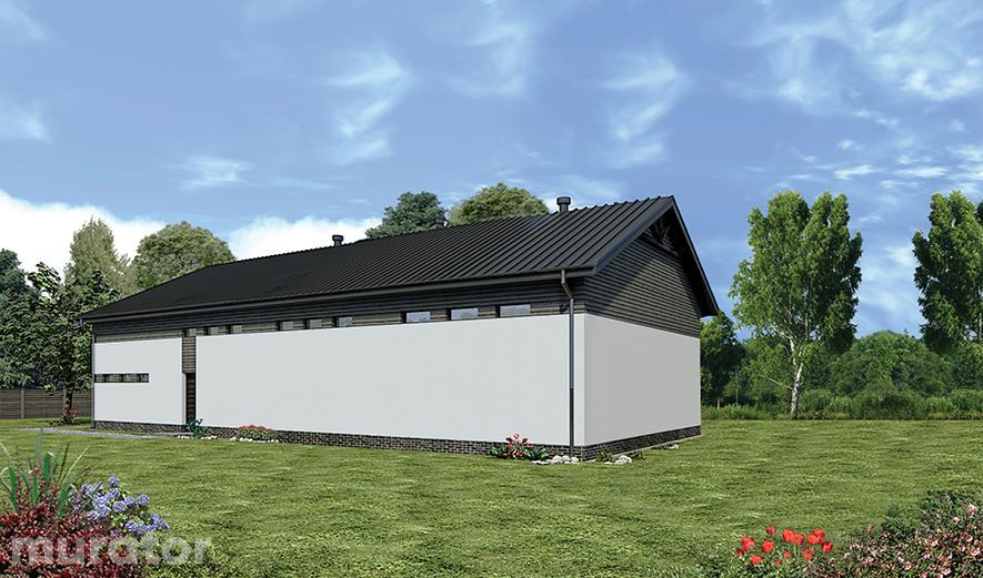 GMC30d Budynek garażowo-magazynowy z pom. pomocniczymi