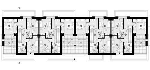 Rzut poddasza POW. 79,5 m²
