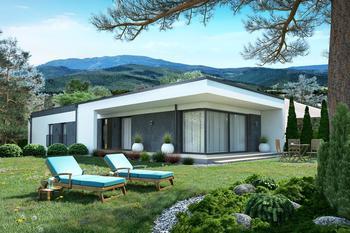 Projekt domu Ka101 P S (podpiwniczony, segment)