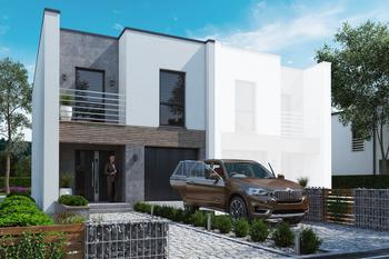 Projekt domu Ka205 S (segment)
