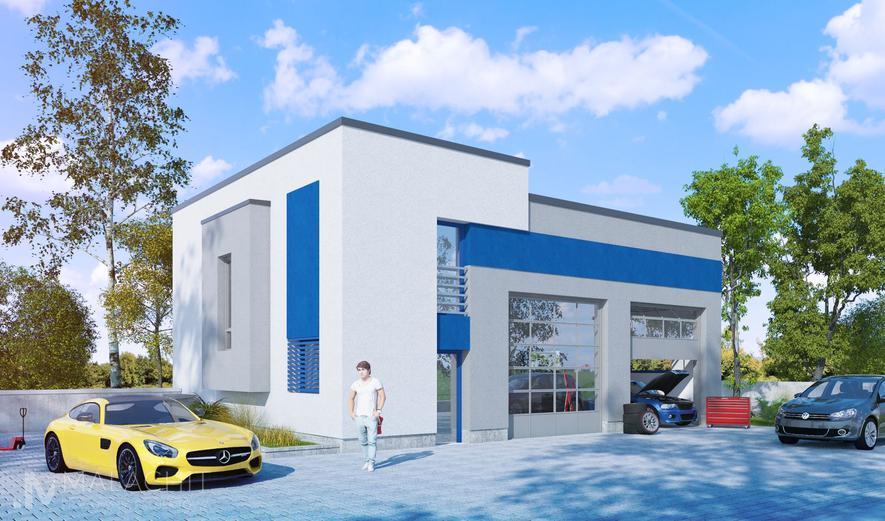 MTU02 Budynek usługowy (Laesus I)