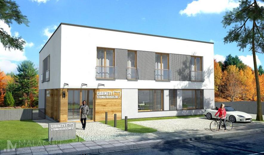 MTU03 Budynek usługowy z częścią mieszkalną (częściowo podpiwniczony) Oppidanus I