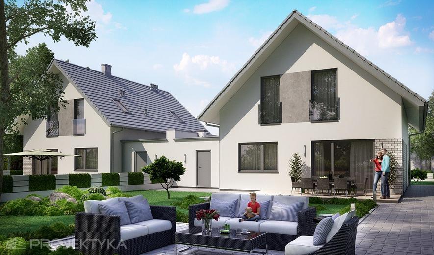 Ka110 DW Projekt domu Ka110 DW