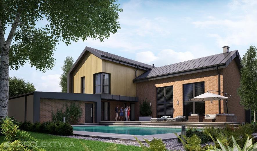 Ka100 M Projekt domu Ka100 M