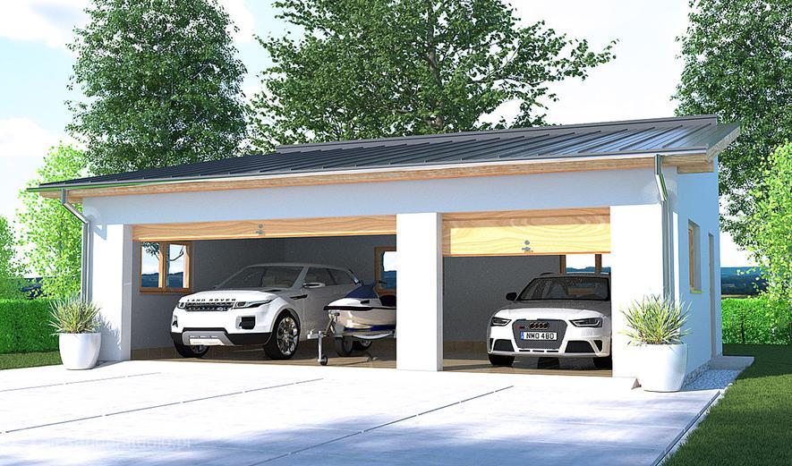 APG2E Garaż / Budynek gospodarczy