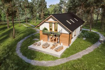 Domy z dachem dwuspadowym