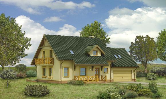 Dom za rogiem - wariant I