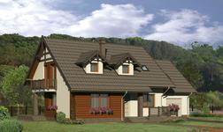 Dom za rogiem - wariant II