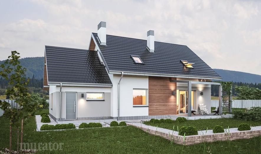 C110e Dom za rogiem - wariant V