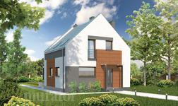 Dom na rozstaju - wariant II