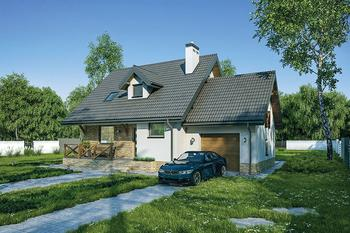 Dom na rozstaju - wariant III