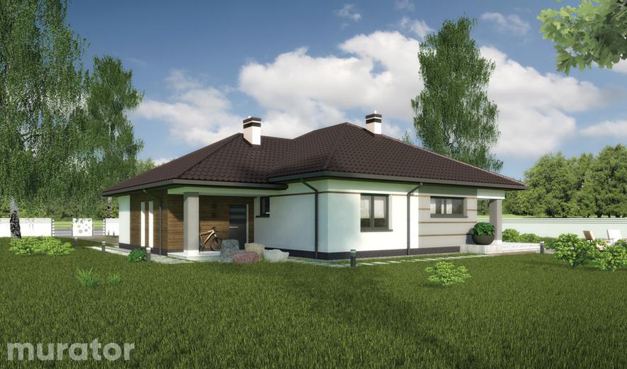 C332a Dom wśród drzew - wariant I