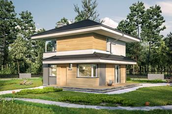 Projekty Domów Piętrowych Z Kolekcji Muratora Murator Projekty