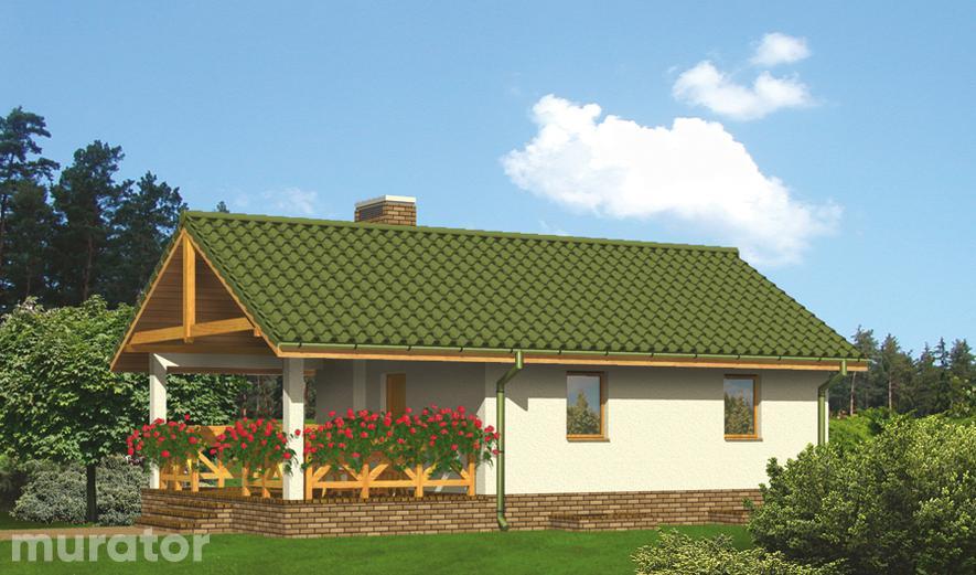 G22a Budynek gospodarczy z sauną i wiatą rekreacyjną (podpiwniczony)