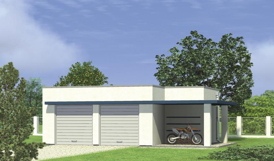 G33a Garaż z pomieszczeniem gospodarczym