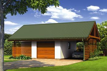Garaże Dwustanowiskowe Murator Projekty